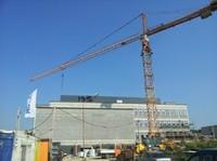 LSMUK traumų ir skubios pagalbos centras, laboratorijos korpusas, automobilių parkingo ir ūkio pastatai.